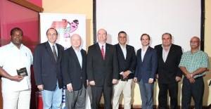 Federaciones Deportivas y Comité Olímpico Reciben de Grupo Sucasa el Himno Nacional, en Versión Digital